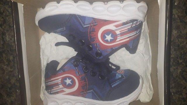 Tênis do Capitão  América  - Foto 2