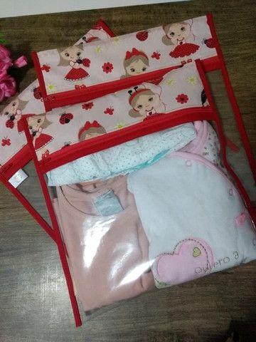 Saquinho maternidade (Kit com 3 unidades) - Foto 3