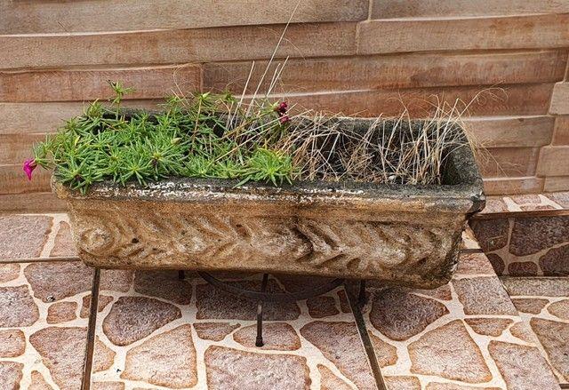 Vasos antigos de cimento - Foto 5