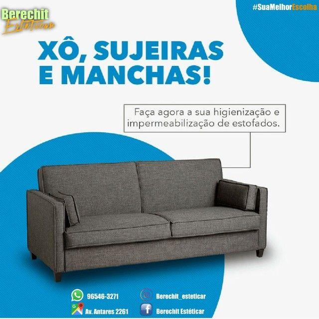 Lavagem higienização e Hipermibilizacao de sofá - Foto 2