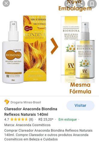 Biondina clareador para cabelos - Foto 3