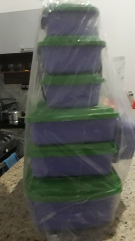 Vendo esse kit de depósito com 9 unidades 15 reais   - Foto 2