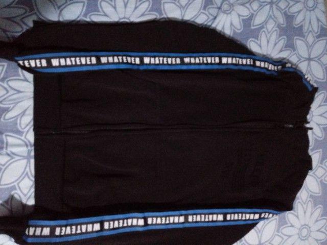 Conjunto 2 casacos tamanho G ( novos )