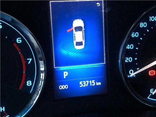 Toyota Corolla Xrs 2018, 53 mil km rodados, único dono, pronta entrega. - Foto 14