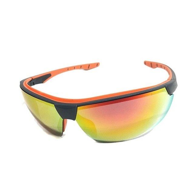 Óculos Proteção UV Espelhado - Anti Embaçante - Anti Risco - Ciclismo - Pesca