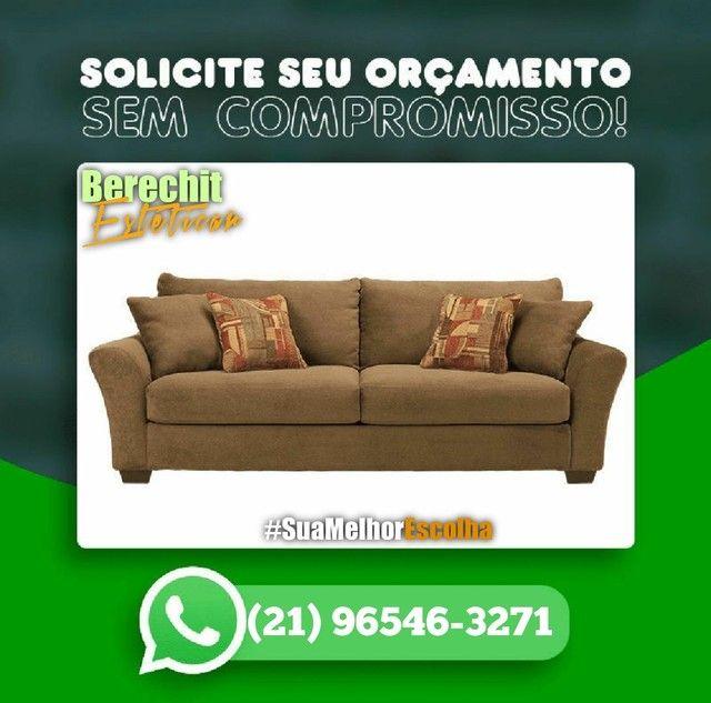 Lavagem higienização e Hipermibilizacao de sofá - Foto 3