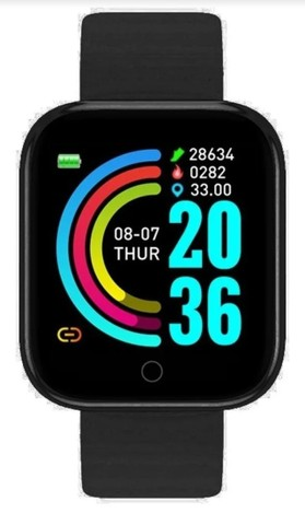 Relógio Inteligente Smartwatch D20 Bluetooth - Android E Ios - Foto 3