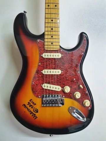 Guitarra Stratocaster Tagima TG530 Woodstock series - Foto 3