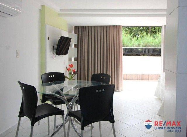 Apartamento com 1 dormitório à venda, 66 m² por R$ 310.000,00 - Cabo Branco - João Pessoa/ - Foto 13