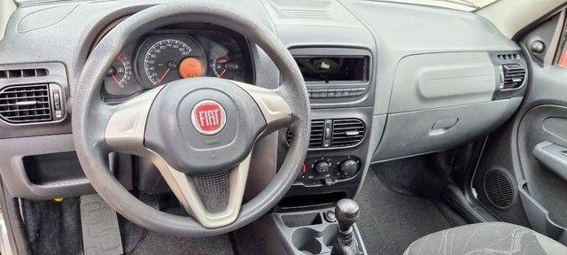 Fiat Strada C.Estendida 1.4 Hard Working 2017! Completa! Unico Dono! - Foto 8