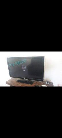 "TV LG 42"" LED cpm.controle remoto"