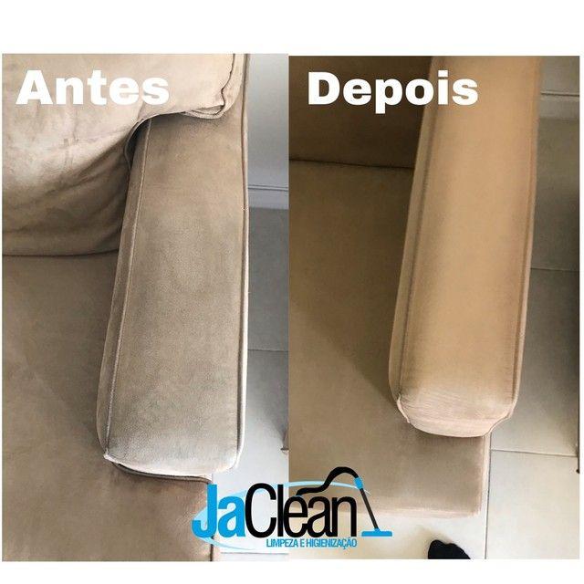 Limpeza e Higienização de estofados - Foto 3
