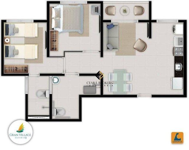 Apartamento no Eusébio com 2 dormitórios à venda, 49 m² por R$ 169.735 - Eusébio - Eusébio - Foto 11