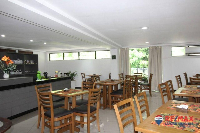 Apartamento com 1 dormitório à venda, 66 m² por R$ 310.000,00 - Cabo Branco - João Pessoa/ - Foto 6