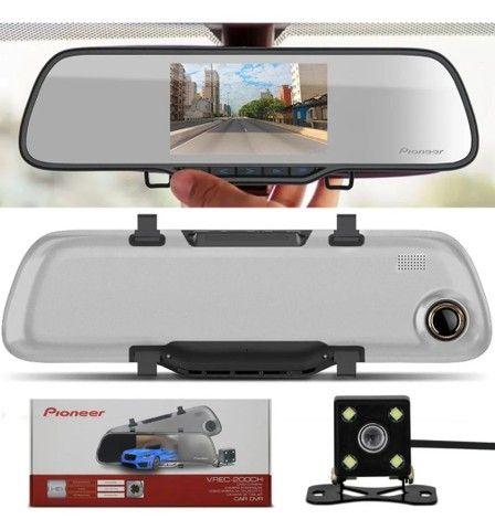 Espelho retrovisor Pioneer com câmera de Ré  - Foto 6