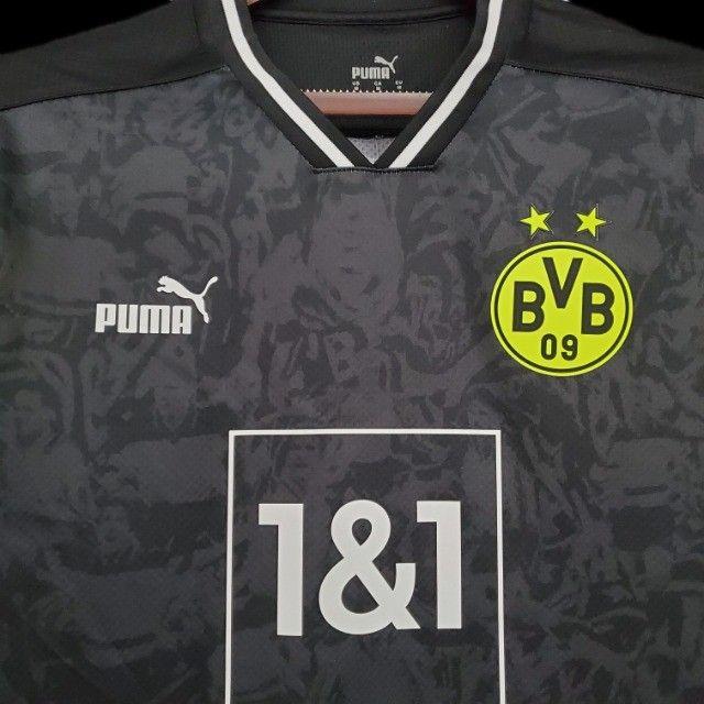 Camisa Borussia Dortmund 2021 - Foto 6