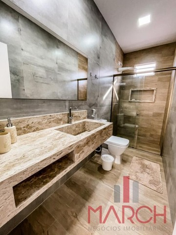 Vendo casa mobiliada, 3 quartos, em condomínio fechado, no Altiplano - Foto 12
