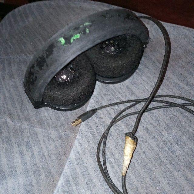 Headset Razer Kraken 7.1 USB na caixa - Foto 4