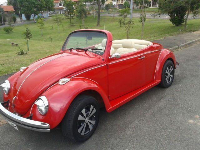 Vw - Volkswagen Fusca Cabriolet