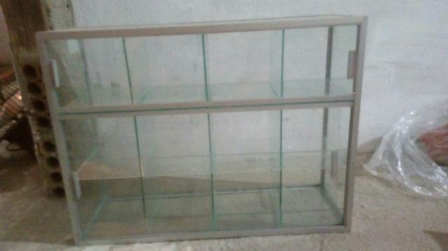 Baleiro de vidro temperado