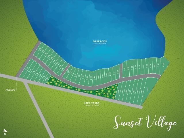 Casa no Lago! Terreno na Barragem de Ernestina é no Sunset Village - Foto 11