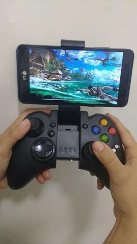 Gamepad Bluetooth Ipega PG-9021 (Entrega Grátis-Nota Fiscal)Loja Na Cohab