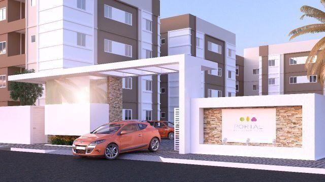 Apartamento de 2 quartos, com area de lazer e documentação gratis