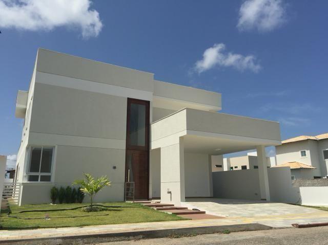 Casa Nova Cond. Green Club Com 4 Quartos Sendo 3 Suítes Dependência 250m²