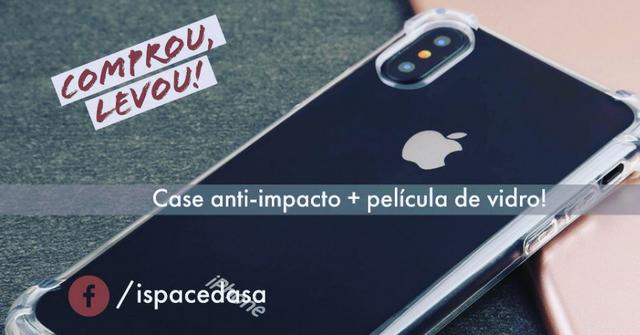 IPhone X 64Gb Lacrado/Garantia Apple + Case e película de brinde - Foto 2