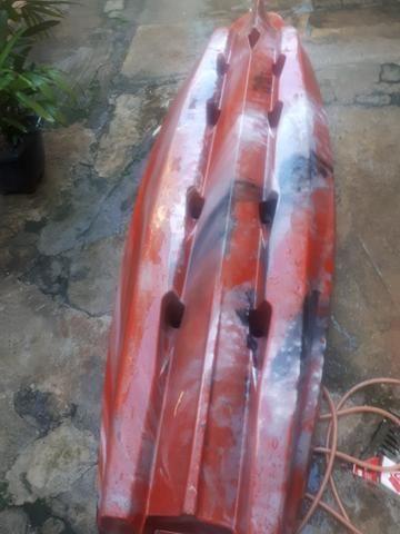 Caiaque Flash milha náutica completo aceito oferta em dinheiro - Foto 6
