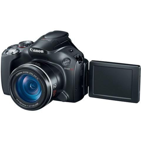 Camera Canon SX40 HS 12.1MP Semi-profissional - Foto 2