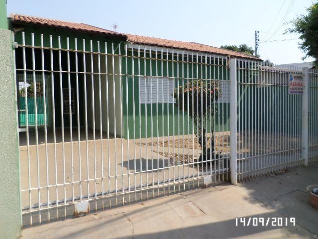Aluga-se casa na Coophalis, em Rondonópolis/MT;