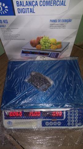 Balança digital eletrônica40kg entregamos