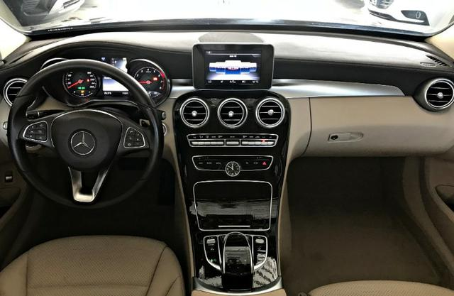 Mercedes Benz C180 Exclusive 1.6 Turbo. Cinza 2017/2018 - Foto 7