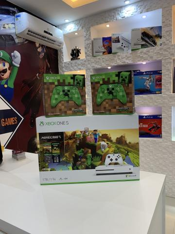 Xbox One S 1 tb 4k com jogo - Foto 3