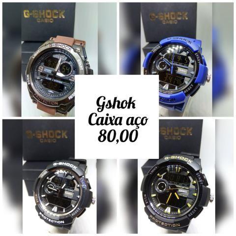 92d7ed5f152 Relógio Casio gshok Primeira Linha - Bijouterias