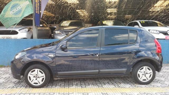 Renault Sandero Privilege 1.6 completa Azul 2009 flex - Foto 3