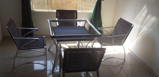 Conjunto De Cadeiras Fibra Sintética Varanda Vime Junco - Mega Promoção!! - Foto 6