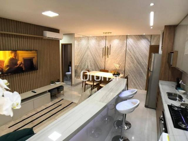 Apartamento com 2 dormitórios à venda, 59 m² por R$ 257.000,00 - Parque Amazônia - Goiânia - Foto 10