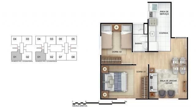Apartamento para Venda em Rio de Janeiro, Braz de Pina, 2 dormitórios, 1 banheiro, 1 vaga - Foto 10