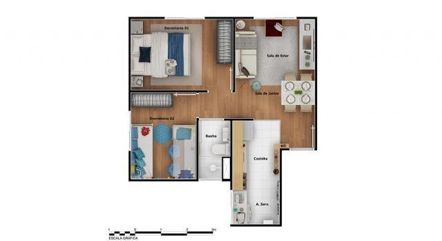 Apartamento para Venda em Rio de Janeiro, Braz de Pina, 2 dormitórios, 1 banheiro, 1 vaga - Foto 12