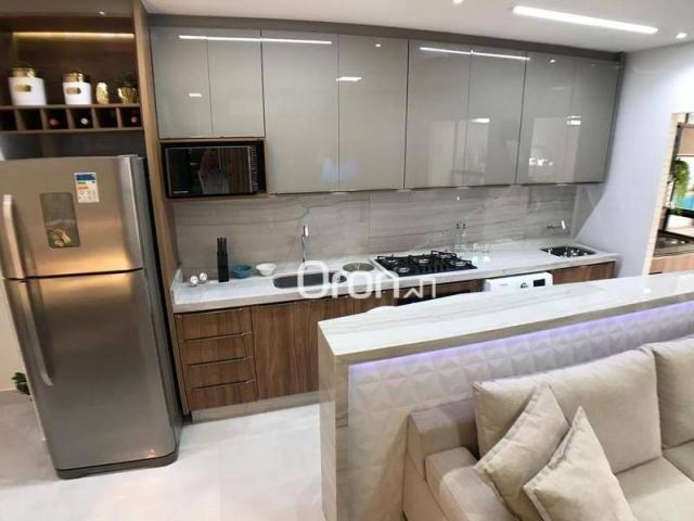 Apartamento com 2 dormitórios à venda, 59 m² por R$ 257.000,00 - Parque Amazônia - Goiânia - Foto 7