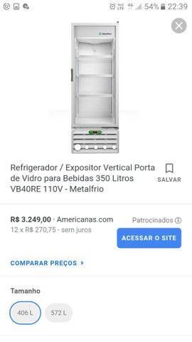 Expositor Refrigerador MetalFrio VB40RE2001
