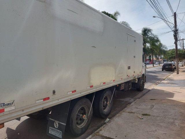 Baú refrigerado frigorifico para truck com aparelho - Foto 4