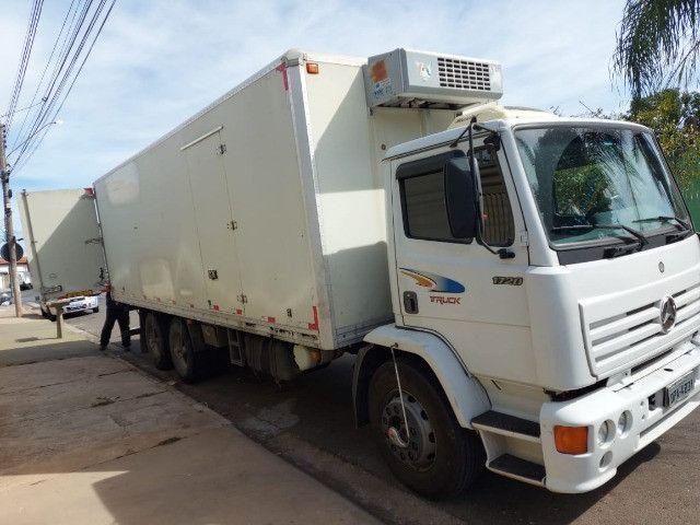 Baú refrigerado frigorifico para truck com aparelho