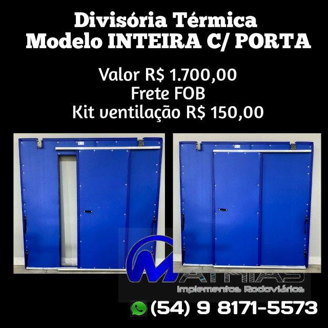 Divisoria movel para camaras refrigeradas Mathias Implementos - Foto 5
