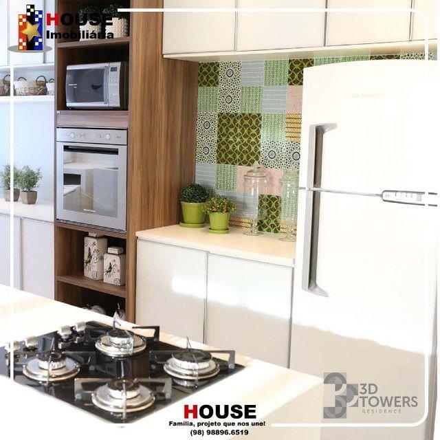 Apartamento, 3 quartos, condomínio, 3D towers_ - Foto 3
