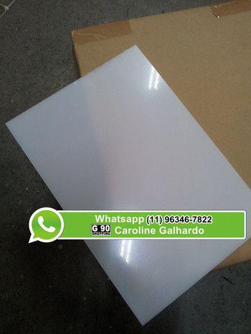 Acrílico Branco Leitoso - 2mm de espessura - Foto 3