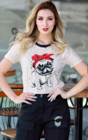 Vendo lindas T-shirt - Foto 4