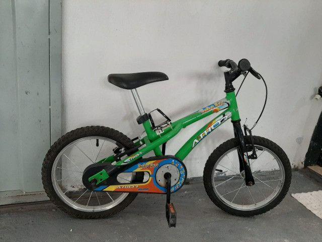 Bicicleta Aro 16. Passo cartão - Foto 2